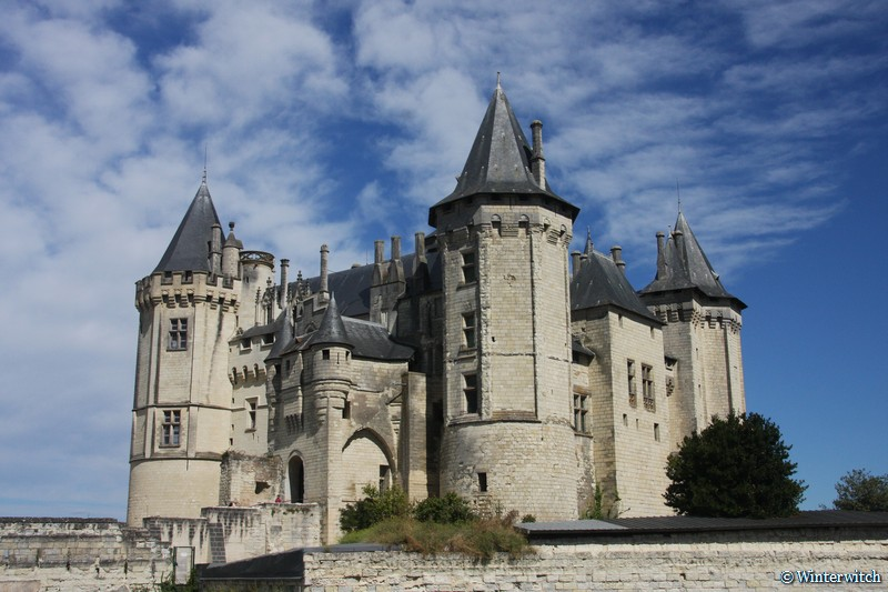 Saumur castle, Loire Valley, France